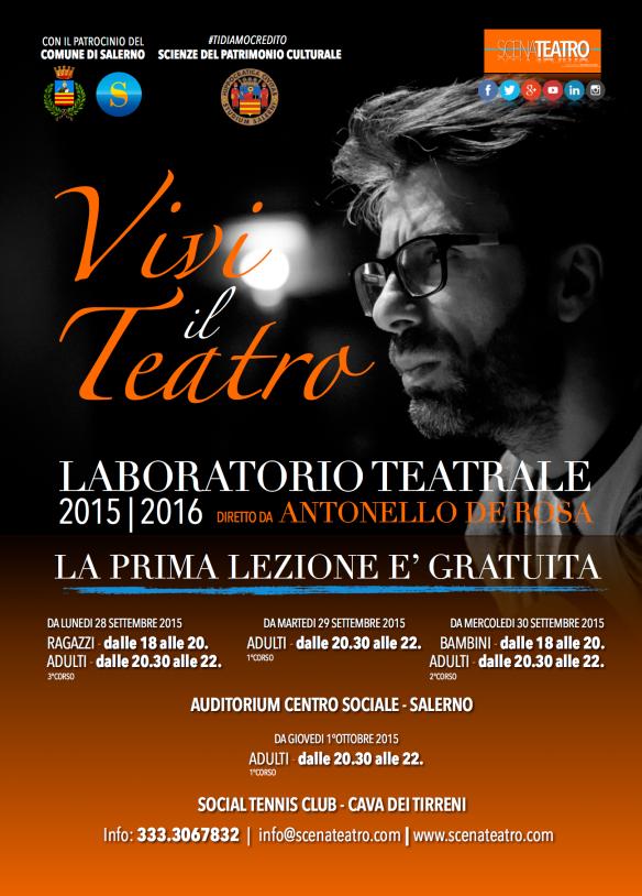 Manifesto Laboratorio Teatrale